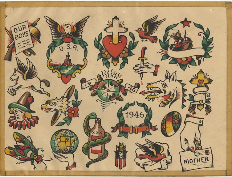 """Tattoo Flash """"y"""" by The Zeis Studio"""