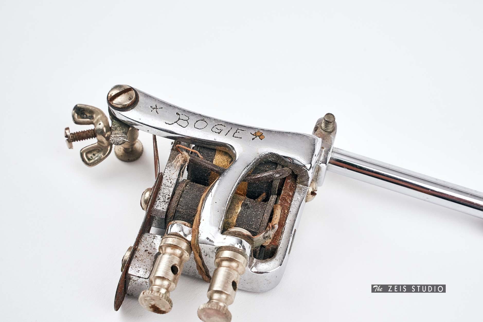 Closeup of Jonesy Roundback Style Tattoo Machine