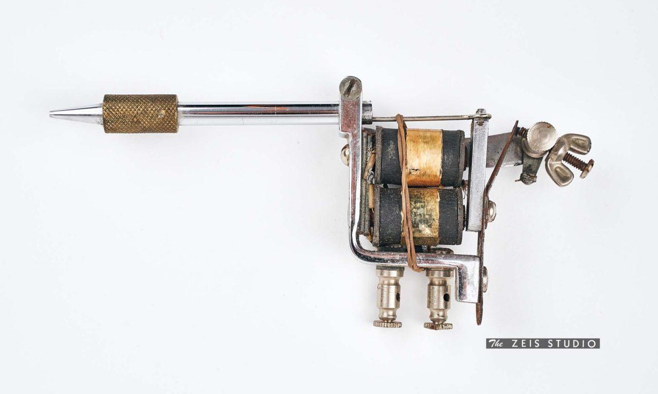 Roundback Style Tattoo Machine Built by Milton Zeis