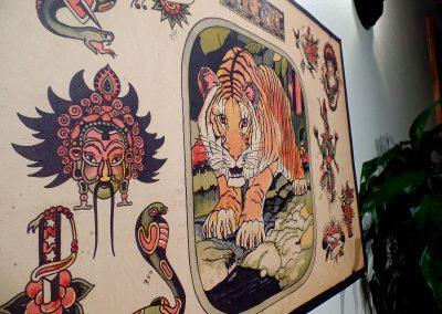 Tiger - Close-up