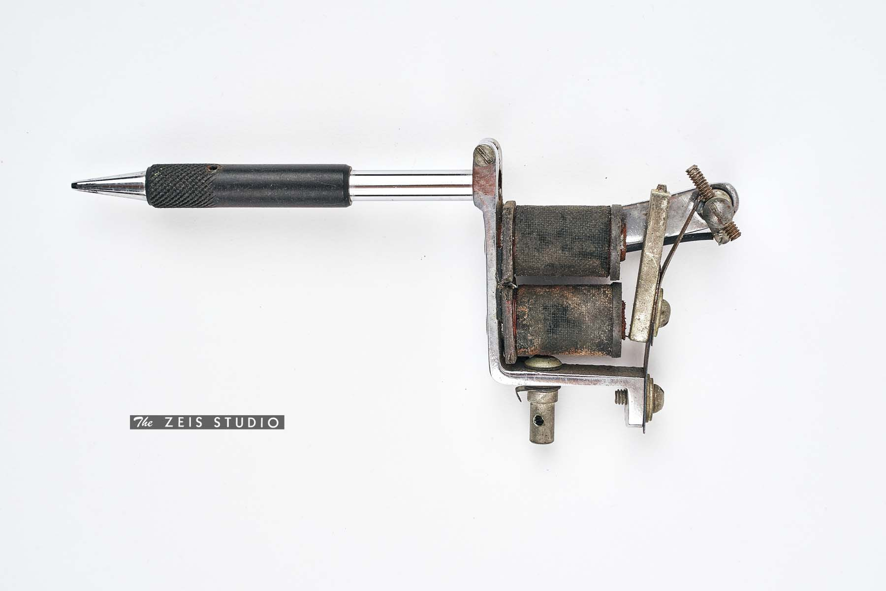 Spaulding and Rogers Lightweight Tattoo Machine_back